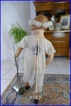 1930s Mannequin Greta, Germany, antique mannequin, antique dummy, antike Schaufensterpuppe