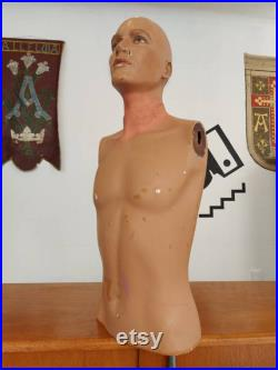 1950s Vintage Barway Shop Display Mannequin for Mary Quant. Antique Retro Decorative