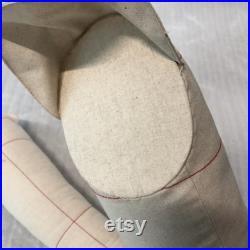 1 1 Adult male soft cotton arms for full body tailor mannequin, fitting mannequin's arms 65cm, size 96 men dressmaker dressform arm pairs