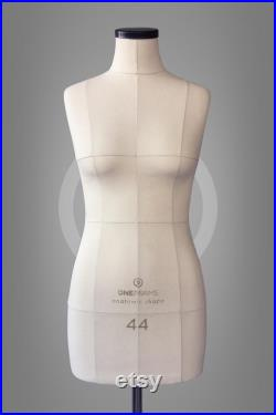 ANASTASIA Soft tailor dummy Professional anatomic mannequin torso for sewing and fashion design Pinnable dress form with optional stand