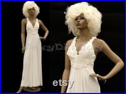 African American Women's Full Body Realistic Mannequin With Molded Hair ALICE