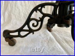 Antique Cast Iron Mannequin Base