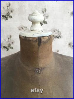 Antique French Tabletop Mannequin
