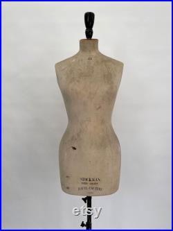 Antique Stockman female mannequin vintage