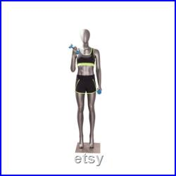Bicep Curl Female Full Body Athletic Sports Fitness Mannequin JSW02