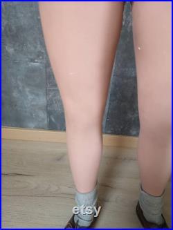 Boy Mannequin Window Legs Pierre Imans from Paris Display Mannequin Boy Half Body Mannequin Rare