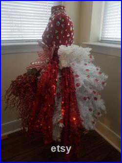 Christmas Tree Dress Form Mannequin