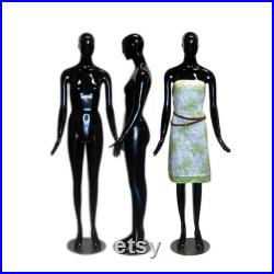 Colorful Glossy Abstract Female Mannequin Personalized Colors