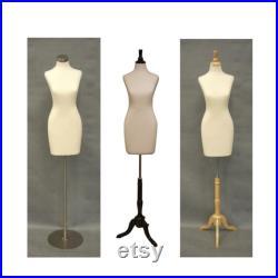 Cream Female Body Form with Base Personalize Option Monogram