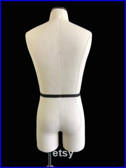 FCE Half-Scale Professional Mannequin and Blocks, Harvey, Male Tailors Dummy with legs, Plus Casual Jacket and Trouser Block
