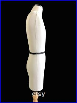 FCE Mini Mannequin for Design-Surgery, Harvey, Tailors Dummy, Draping Stand, Half-Scale, Height-Adjustable Stand