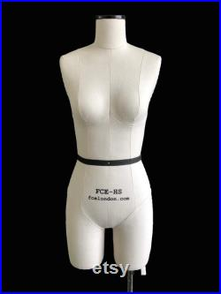 FCE Mini Mannequin for Design-Surgery, Ilina, Tailors Dummy, Draping Stand, Half-Scale , Height-Adjustable Stand