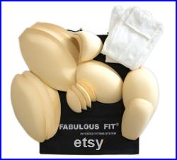 Fabulous Fit Fully Pinnable Studio Series Dress Form Flat Bottom Version (with arms and padding kit)