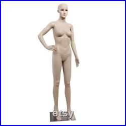 Full Size Female Mannequin on a Stand Full Body Shop Dummy Clothes Display Retail