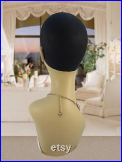 Glamour Flapper Style Mannequin Head M2022