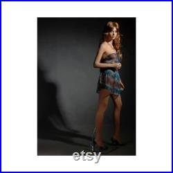 Ladies Full Body Realistic Fleshtone Mannequin with Pretty Face and Included Wig and Base LISA7