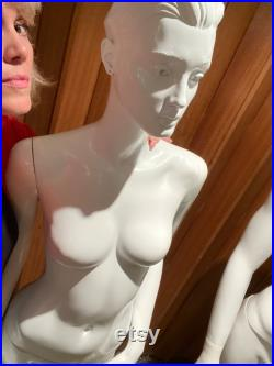 Male and female vintage mannequins x2 Adam and Eve PICK UP ONLY