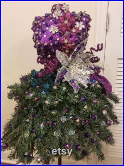 Mannequin Christmas Manniquin Dress Form Christmas Tree