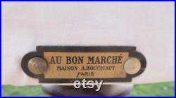 Mannequin, Vintage French, Taylor Dummy, Parisien Dress Form made by Au bon Marché, Maison A Boucicaut, Paris, Boudoir Display, circa 1940s