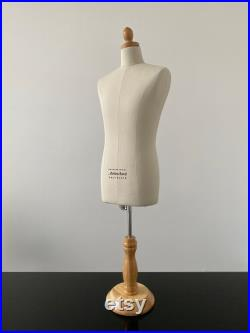 Mens 1 2 Half Scale of Size 40 Professional Body Form (table top adjustable)