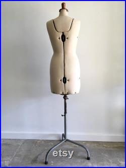 PICK UP ONLY Vintage 'Your Double', Sydney, Mannequin, Dress Form, Antique Female Display Mannequin, Tailor's Dummy