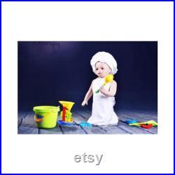 Realistic Baby Toddler Kids Mannequin In Kneeling Position