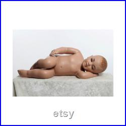 Realistic Baby Toddler Kids Mannequin In Sleeping Pose ANN5