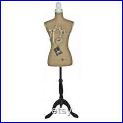 Ribboned Mannequin White leg support