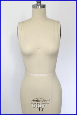 Size 10 Professional Tailors Female Dress Form with Collapsible Shoulder