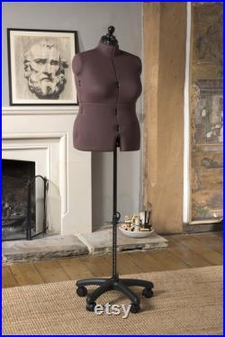 Tailor doll adjustable several times, with trouser base and back length adjustment, Olivia size Large
