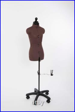 Tailor doll multiple adjustable, with trouser base and back length adjustment, Olivia size XS