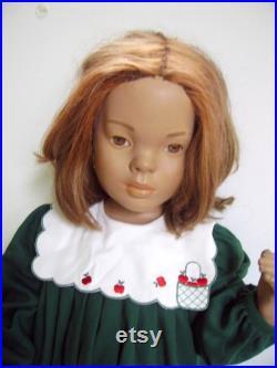 True Vintage 1940's Child Girl Mannequin Cutest Vintage Child Store Mannequin Old Dept. Store Mannequin