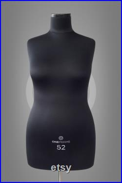 VERA Soft dress form for sewing Professional anatomic mannequin torso for sewing and design Fully pinnable dress form Tailor dummy