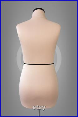 VERA Soft sewing dress form Professional anatomic mannequin torso for sewing and fashion design Fully pinnable dressform Tailor dummy