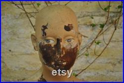 Vintage 1960's Mannequin Bust