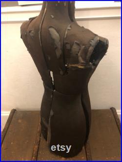 Vintage Adjustable Dress Form Body