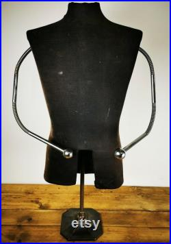 Vintage Antique 20th Century Adjustable Tailors Articulated Dummy Mannequin
