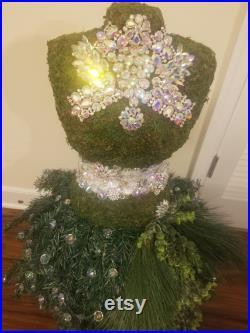 Vintage Holiday Mannequin