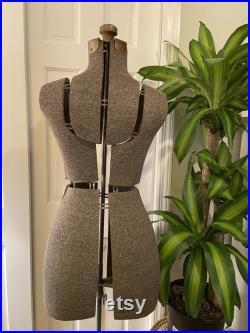 Vintage Mid Century Adjustable Dress Form
