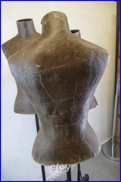 Vintage Papier Mache Style Mannequin
