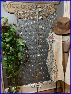 Vintage Wire adjustable Dressmakers Mannequin