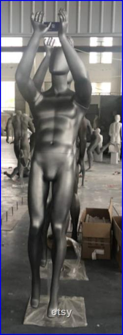 lilladiplay dark gray color playing basketball mannequins