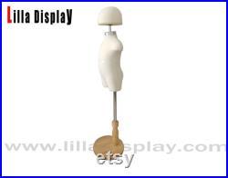 lilladisplay 3-4 years old wooden base foam material children mannequin dress form SC 02